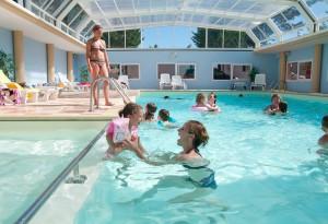 la piscine du camping à la Tranche sur Mer