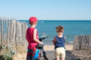 Camping Saint Anne la Tranche sur mer avec accès direct plage