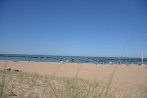la plage de la Faute sur Mer