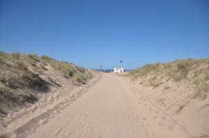 Accès direct plage