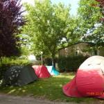 les emplacements de camping