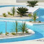 Une des piscines du camping