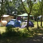 Des emplacements de camping ombragés