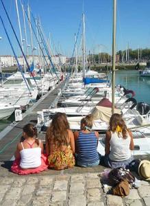 Découverte de la Rochelle