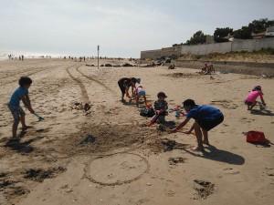 Camping les Préveils avec accès direct à la plage