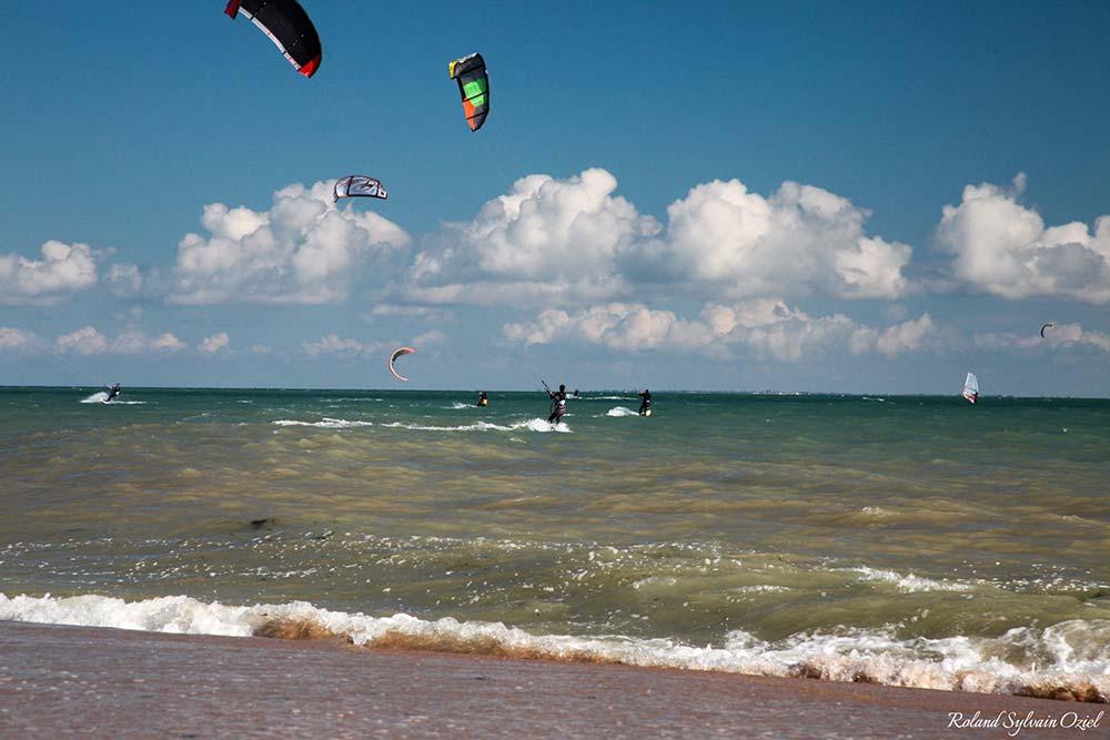 le kite-surf à la Tranche sur mer