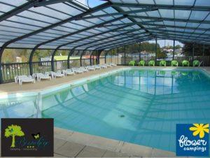 camping piscine couverte