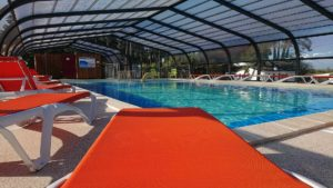 Camping la Siesta piscine couverte